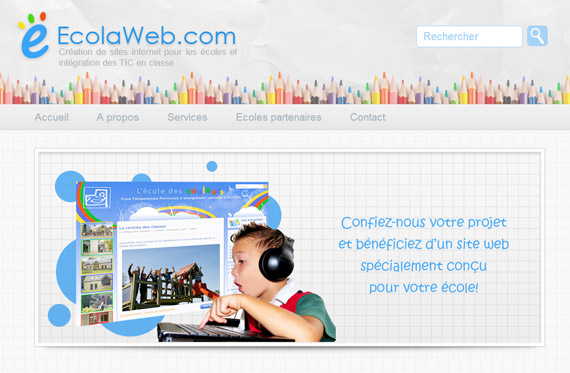 Cr er un site d 39 cole avec ecolaweb for Idee de site web a creer